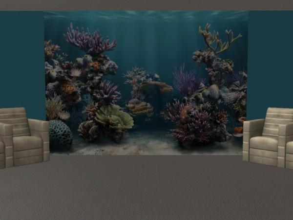 Aquarium mural leefish for Aquarium mural